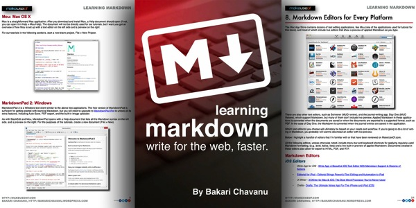 Markdown featured