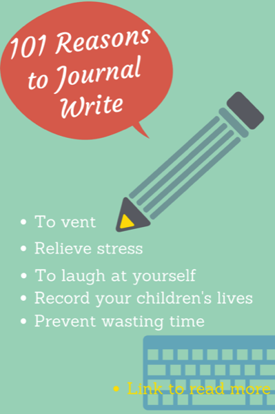 Reasons to Journal Write