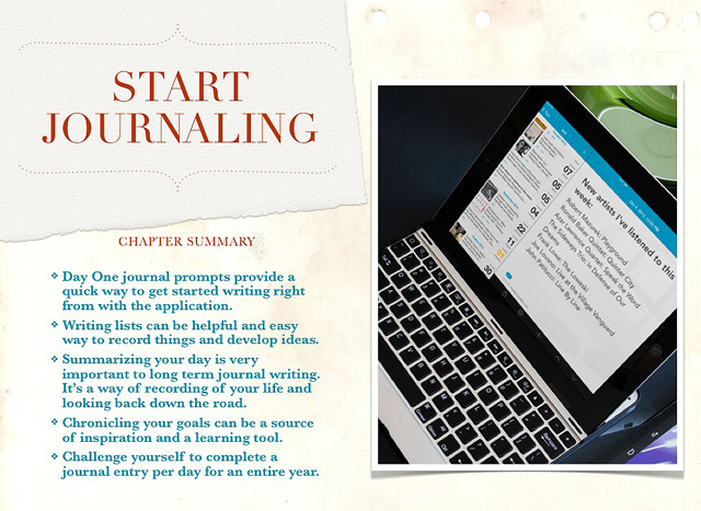 Forthcoming Book: Starting From Day One: Using Digital Journaling to Enhance Your Life