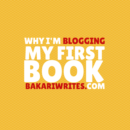 WHY I'M BLOGGING